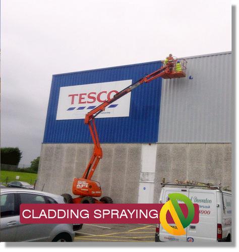 Cladding Spraying