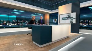Diamond Industrial Painting Ltd. Floor coating for ITV News