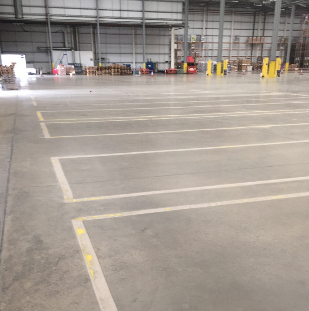 Smyths Toys - Warehouse Line Painting