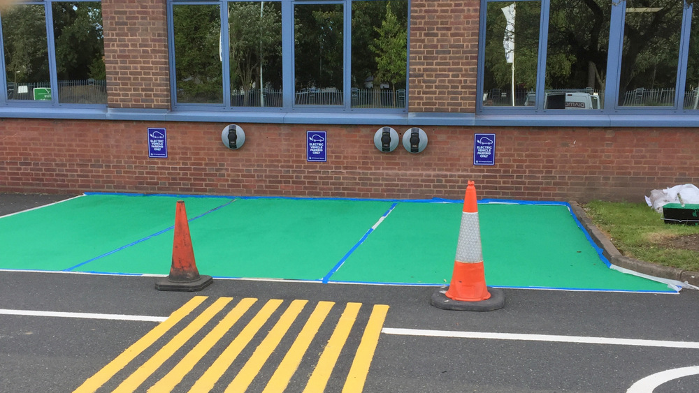 UTC Aerospace Systems - Carpark Line Marking
